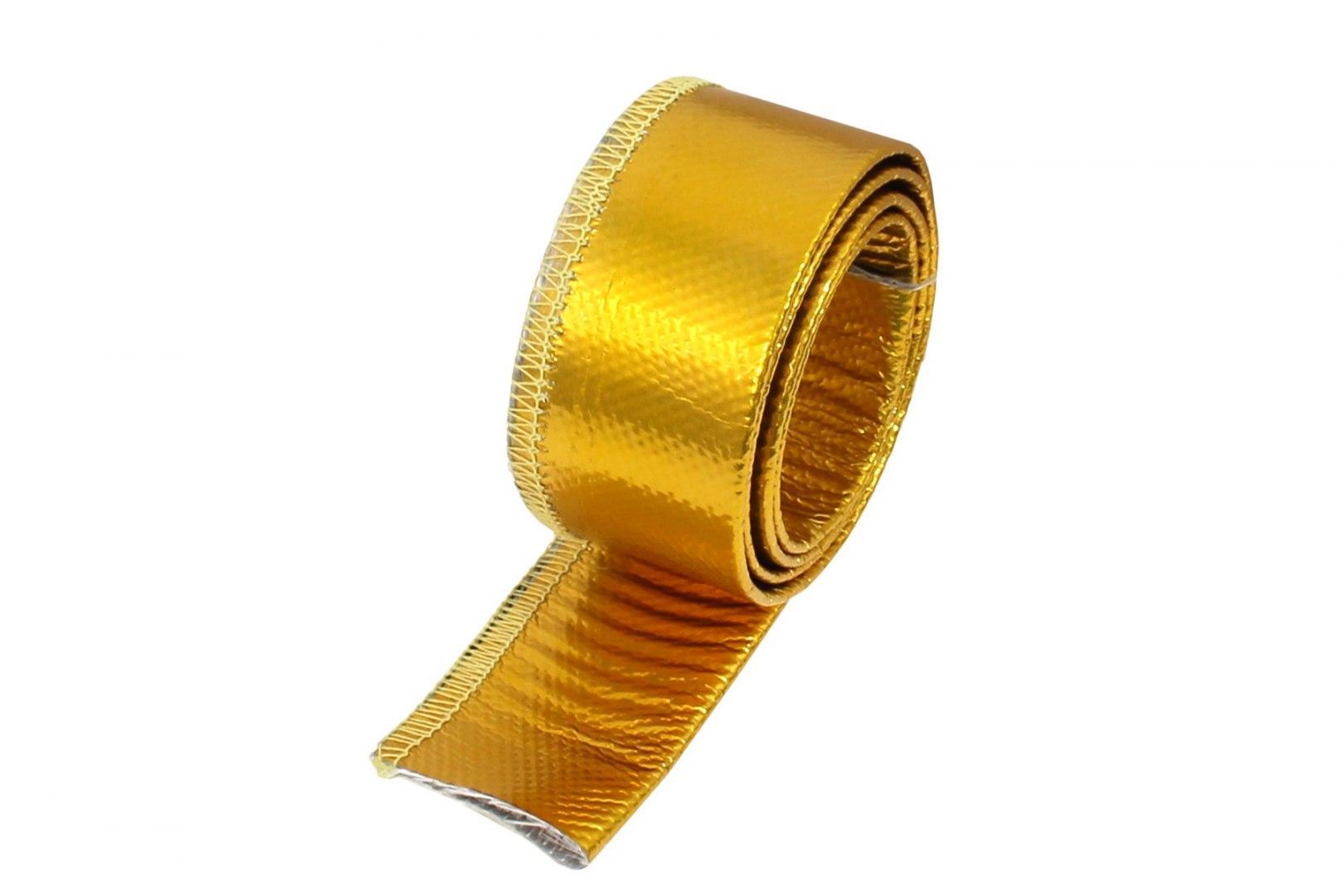 Osłona Termiczna przewodów złota 15mm 100cm - GRUBYGARAGE - Sklep Tuningowy